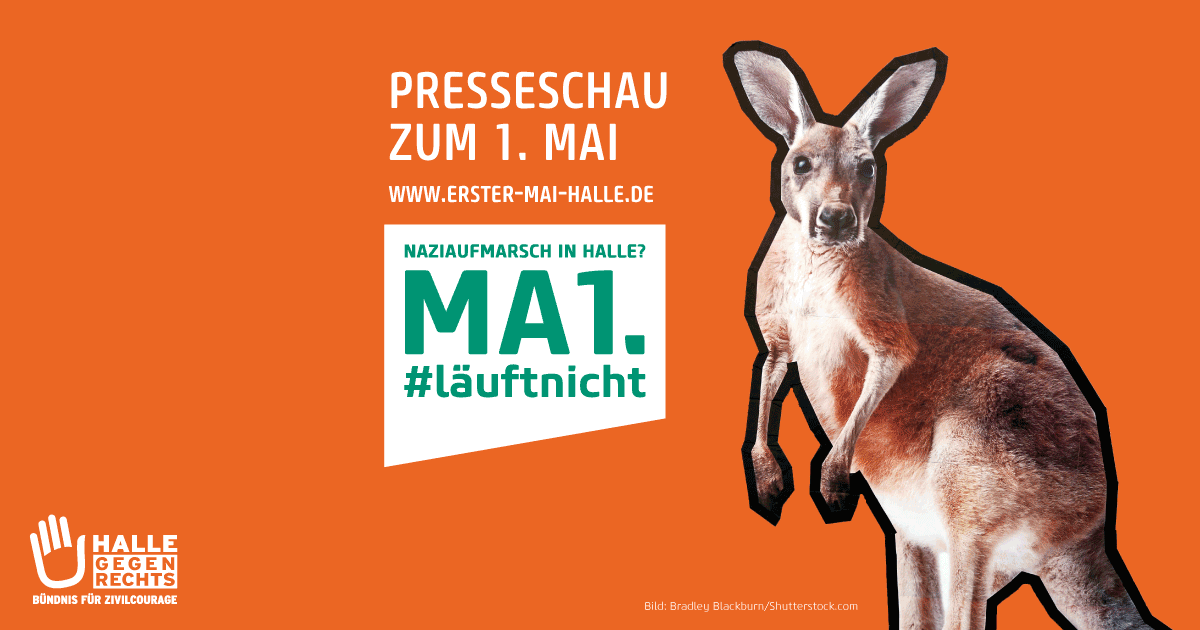 Presseschau zum 1. Mai in Halle