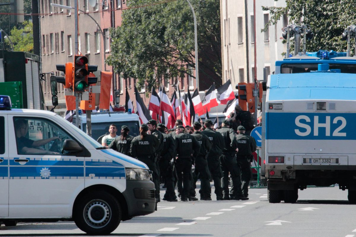 Naziaufmarsch in Dortmund am 3. September 2011